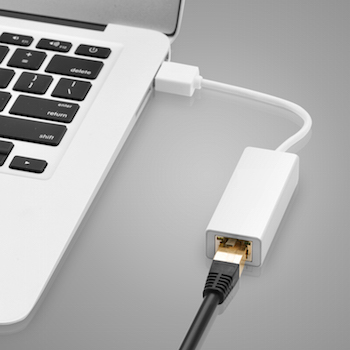 Apple USB to Ethernet Cable
